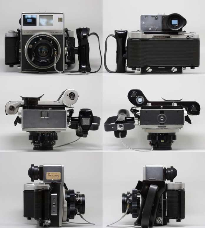 Mamiya Super 23 from all sides