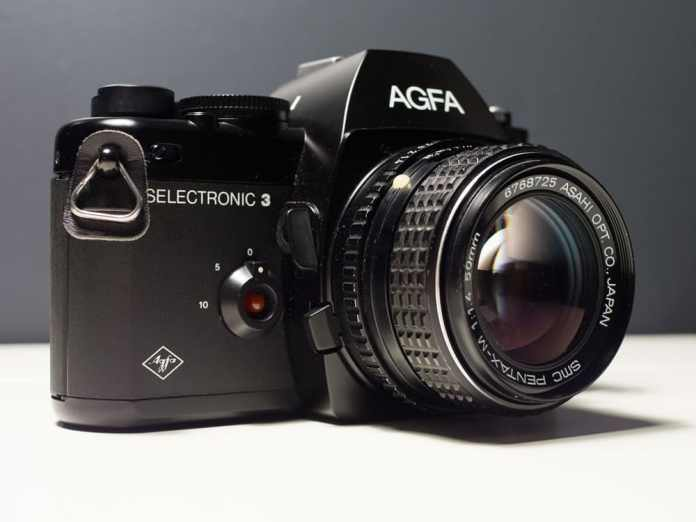 Agfa Selectronic - Left view