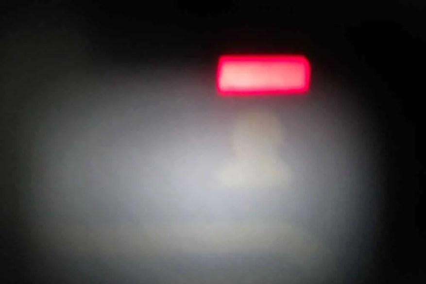 Minolta Hi-Matic - Distance signal light
