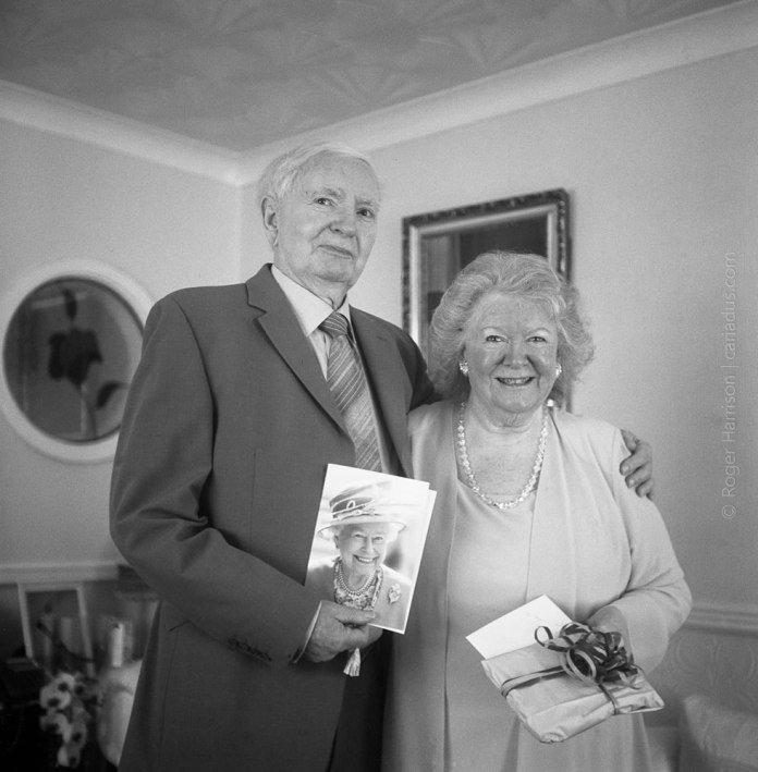 Mr and Mrs Forbes on their 60th anniversary - Rolleicord Va on Kodak Tri-X 400
