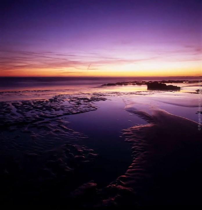 Southerndown on the Glamorgan Heritage Coast - Hasselblad 500EL/M, Distagon 40mm CF on Fuji Velvia 50
