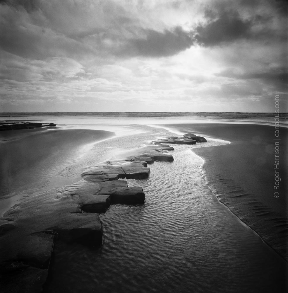 Southerndown, Hasselblad 503CX, Distagon CF 40mm, Fuji Acros 100