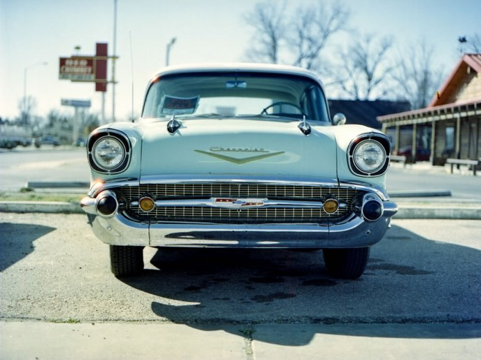 '55 Bel Air - Cinestill home developed