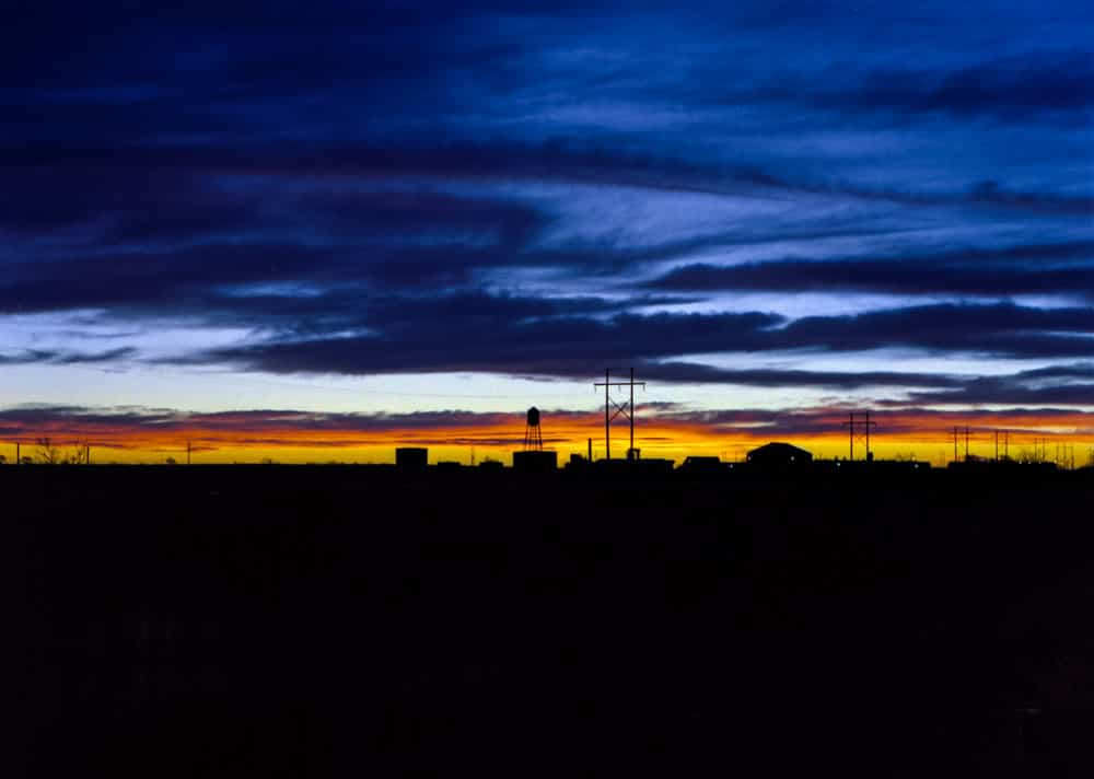 Lubbock sunset