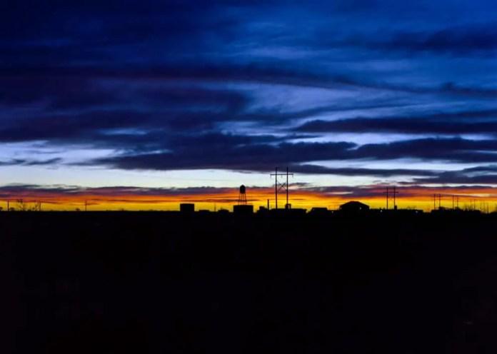 Lubbock sunset