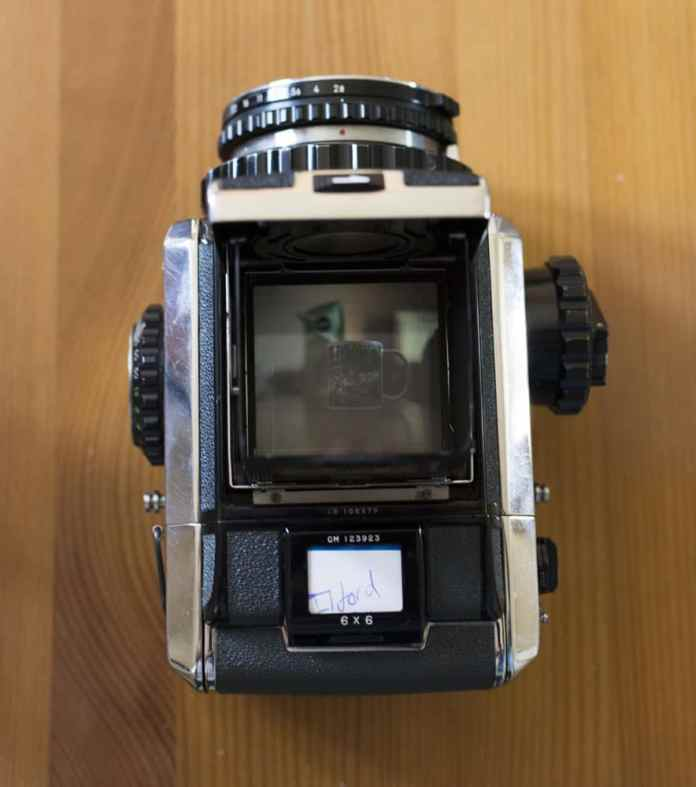 Bronica S2A - Top
