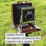 Cover - Camera review - the Nagaoka Seisakusho 4x5 compact field camera