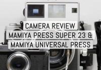 Cover - Review - Mamiya Press Super 23 and Mamiya Universal Press