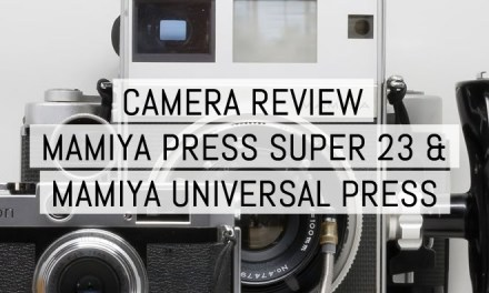 Camera review: Mamiya Press Super 23 and Mamiya Universal Press – by Kikie Wilkins