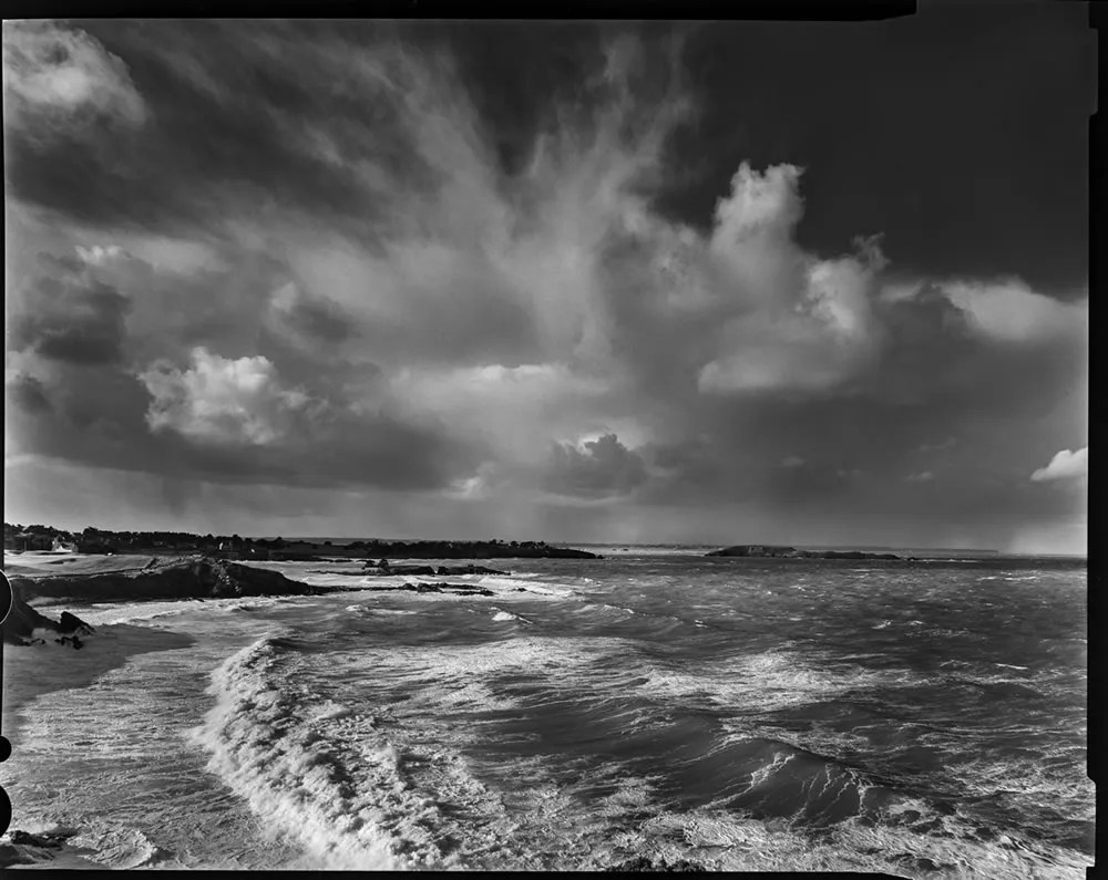 "Brittany, France 2015 - From the photo-work ""Bretagne entre ciel et mer"" - Horseman FA45. Ilford HP5 4x5"", 400asa"