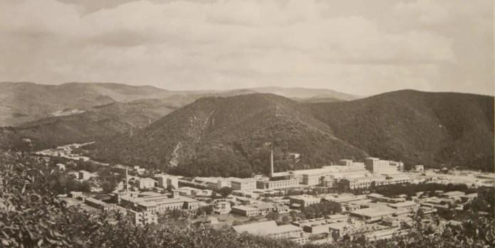 The Ferrania campus in 1918 (archival image courtesy FILM Ferrania)