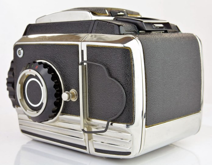 Zenza Bronica S2A - Rear Right