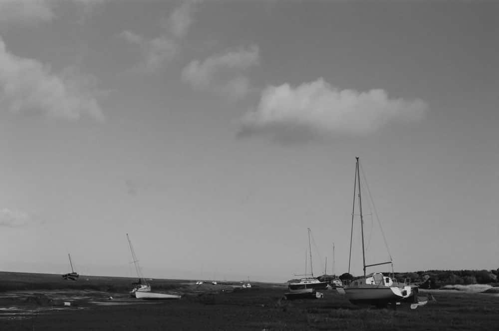 Plain of boats - Minolta XD7