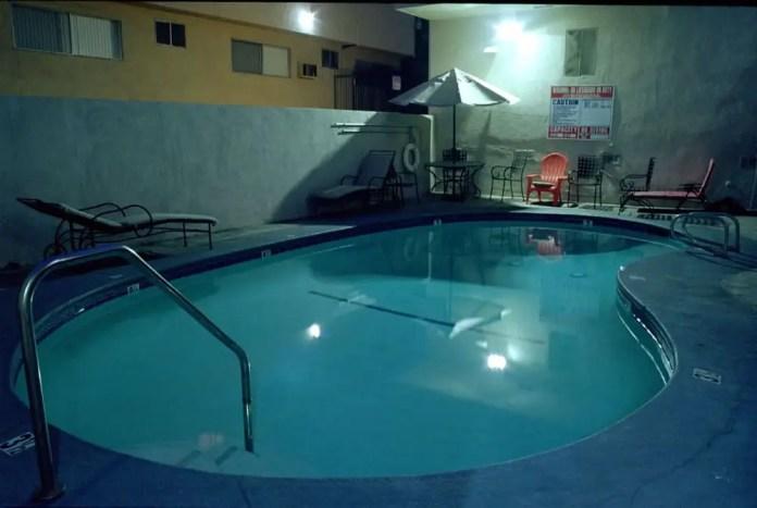 Cristian Gil - @_CrisGil The complex pool. Kodak Ektar 100 #minolta #home #summerfilmparty @summerfilmparty @EMULSIVEfilm