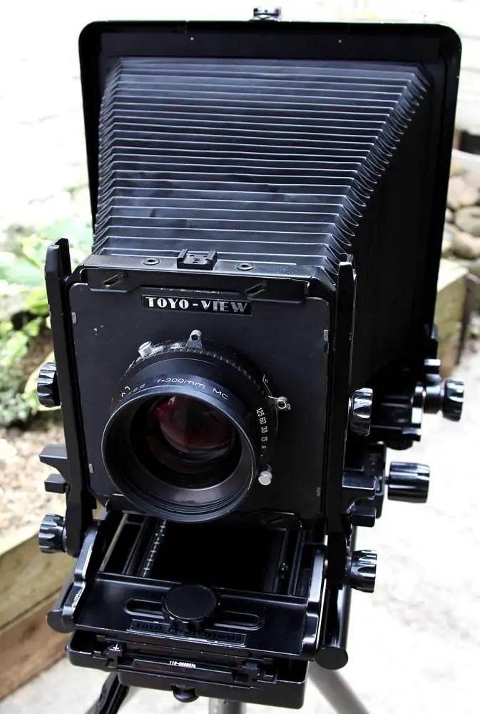 Toyo 810m2 and Schneider 300mm F5.6 APO Symmar MC