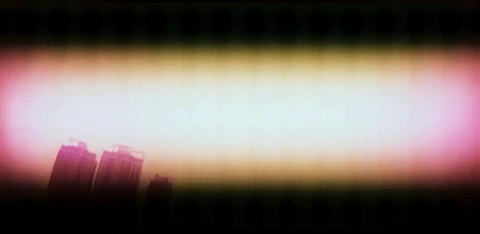 Cylon vision - Shot on Kodak PROFESSIONAL ELITE Chrome 100 (EB-3) at EI 100. Color reversal (slide) film in 35mm format. Cross processed / Lomography Sprocket Rocket.