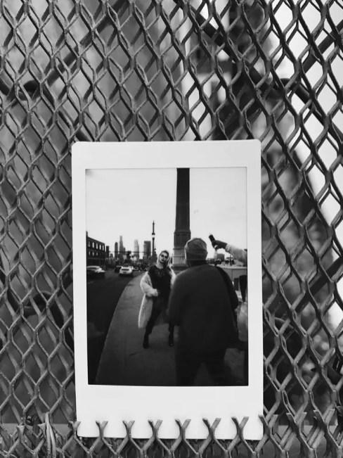 Leica Sofort - Portrat Shoot - Instax Mini Monochrome