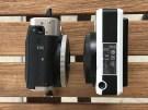 Leica Sofort and Fuji Instax Mini 90 - bottom plate