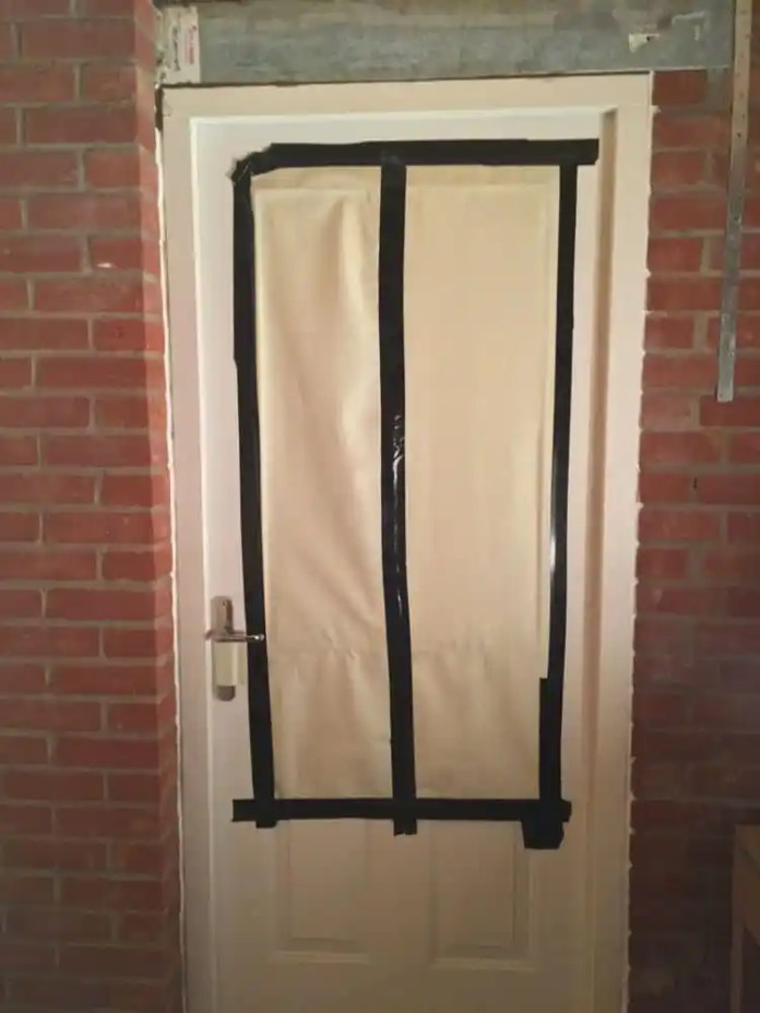 Darkroom door