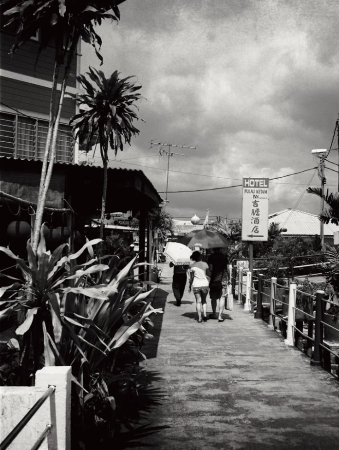 """""""Untitled"""", Pulau Ketam, Malaysia. Fuji GS645S, 60mm f/4.0 loaded with ILFORD Pan F+ exposed at EI 50, semi-stand developed in Adox Rodinal 1:100."""