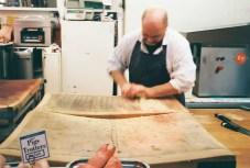 Butcher, Grainger Market, Newcastle - Lomography Colour 400, Olympus Trip