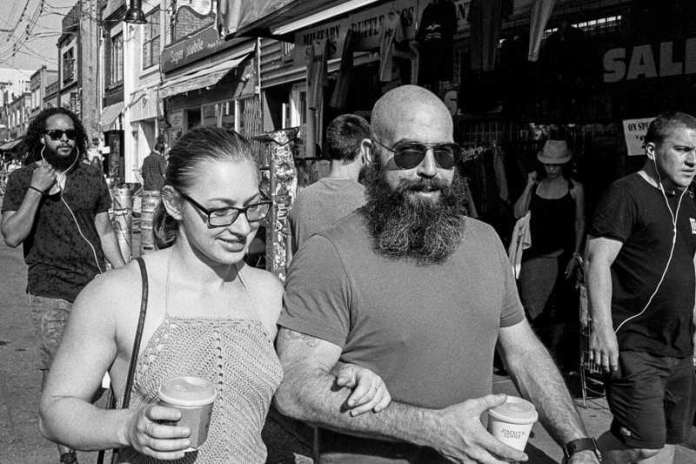 Beard, Kensington Market Leica M-A Kodak Tri-X