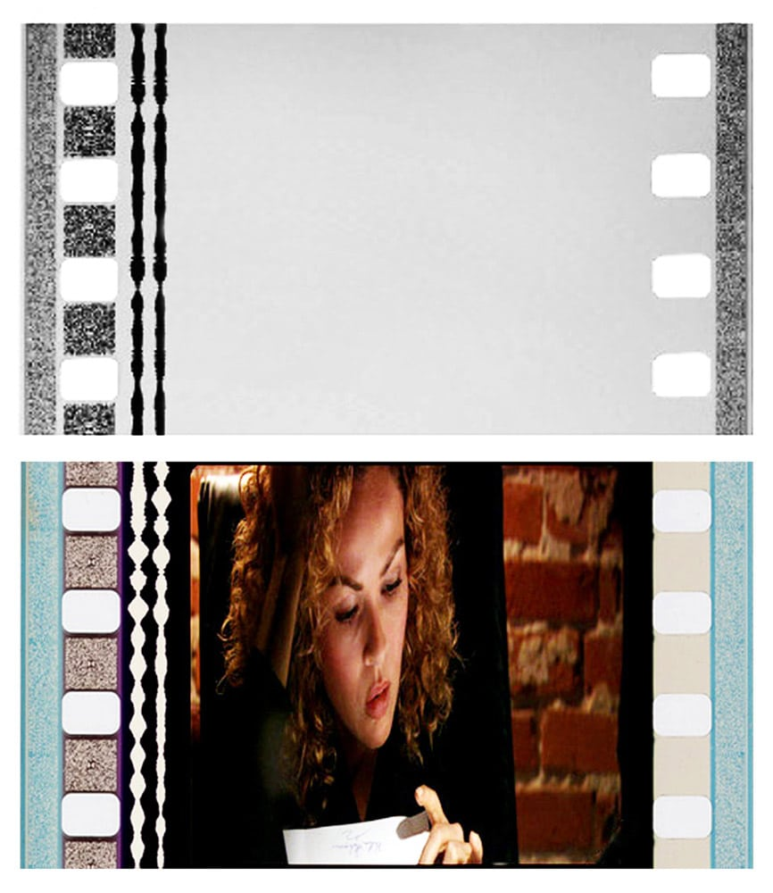 35mm Cinema Sound Negative and Release Print