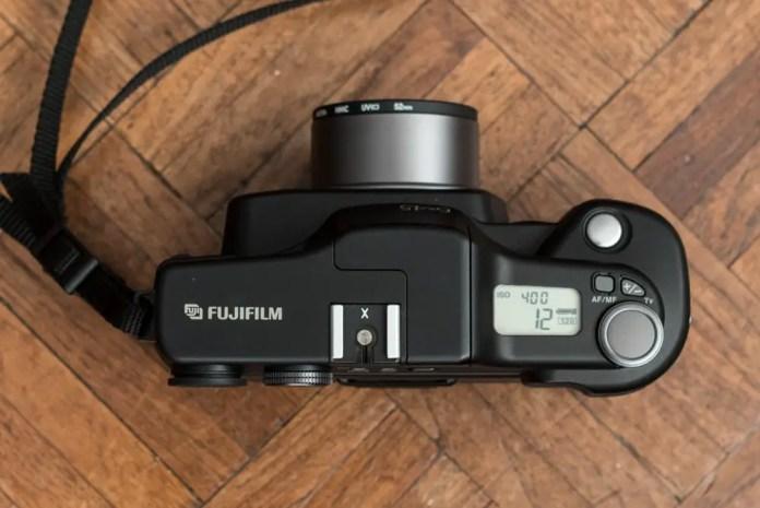 Fuji GA645i - Top