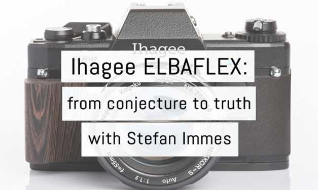 Ihagee ELBAFLEX: from conjecture to truth with Stefan Immes