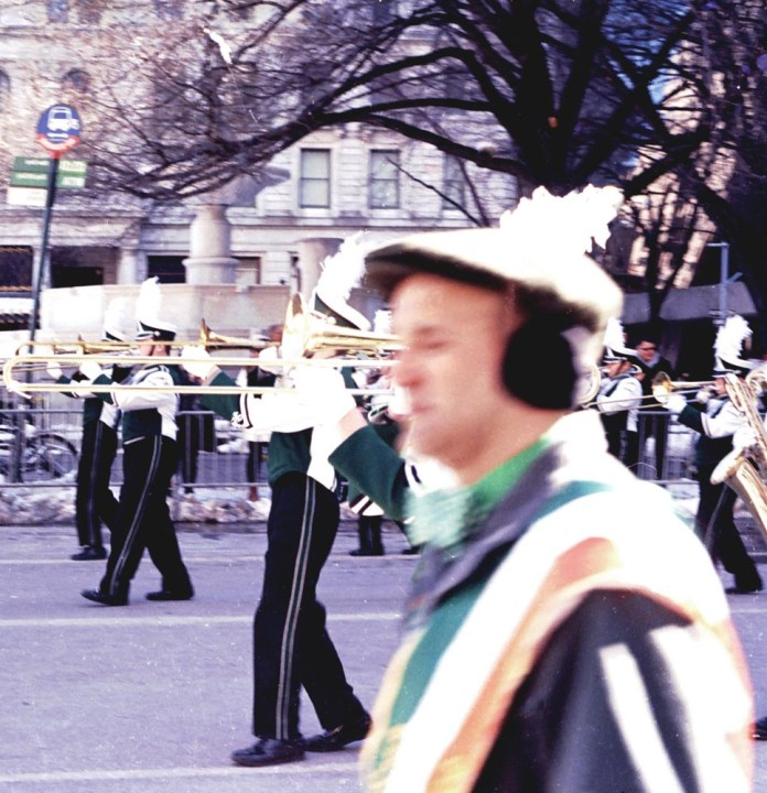 Dance with the Walk. Photographed with my Minolta XG, & on Kodak's Ektar, small-format, 135 film, 100 speed. Manhattan, New York.
