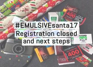 #EMULSIVEsanta17 - Registrations closed and next steps