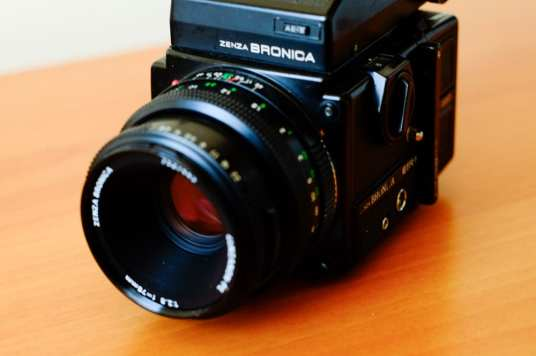 Bronica ETRSi - Front Angle 2