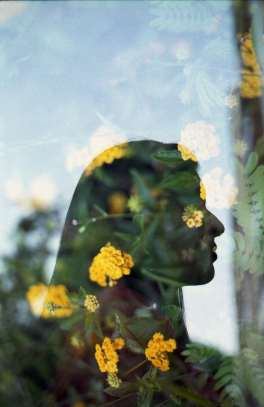 Double exposure portraits - by Clara Araujo