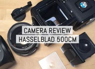 Cover - Review - Hasselblad 500CM