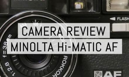 Camera review: Minolta Hi-Matic AF by Aditya W