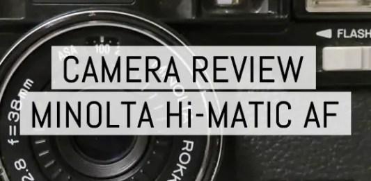 Cover - Review - Minolta Hi-Matic AF