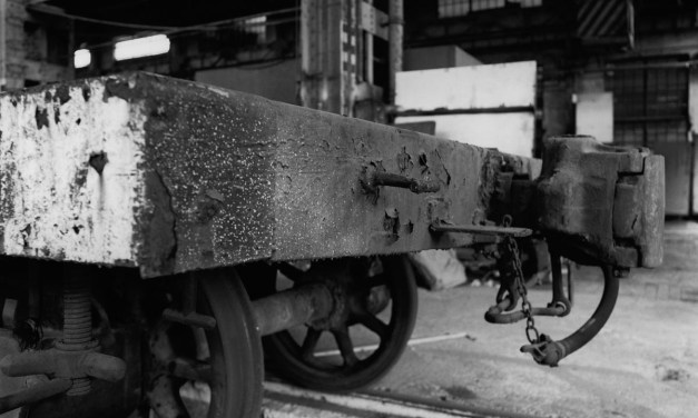 Loading bay – Shot on ILFORD Delta 100 Professional at EI 100 (120 format)