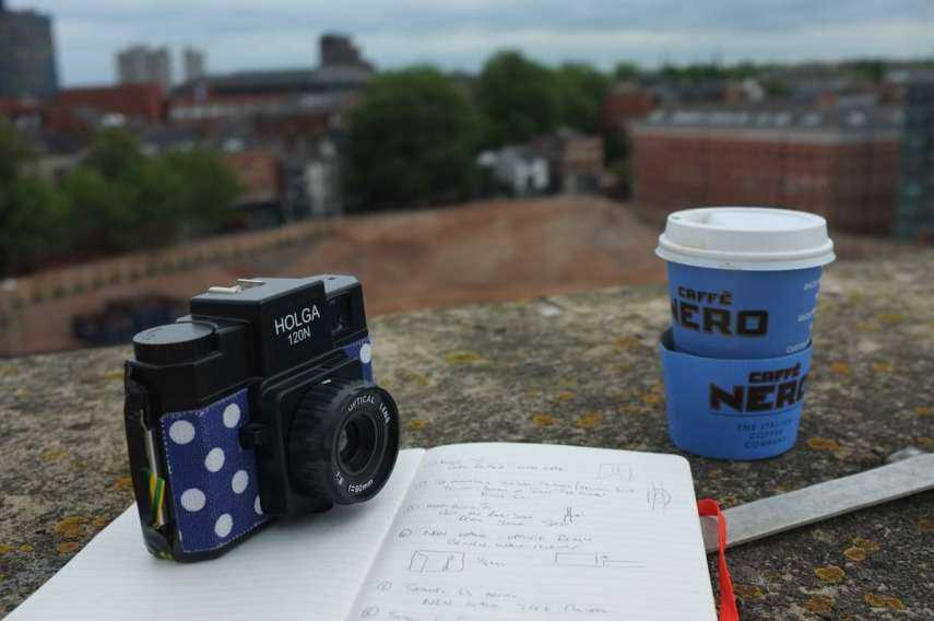 The Ghost of New Walk Centre - Coffee and camera