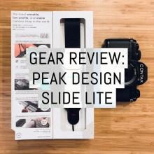 Peak Design - Slide Lite - Cover