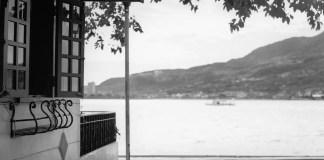Summer getaway - Shot on Kodak Portra 400 BW at EI 400 - Black and white negative film in 120 format shot as 6x6 - Chromogenic film
