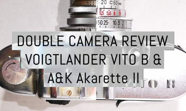 Double review: Voigtlander Vito B & Apparate & Kamerabau Akarette II – by Tobias Eriksson
