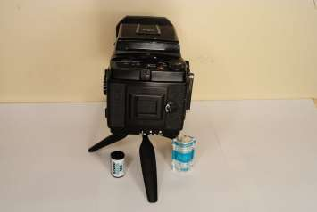 Mamiya RB67 - Rear view