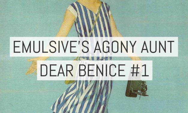 Introducing EMULSIVE's agony aunt – Dear Benice #1: How can I let people know I'm still shooting film?