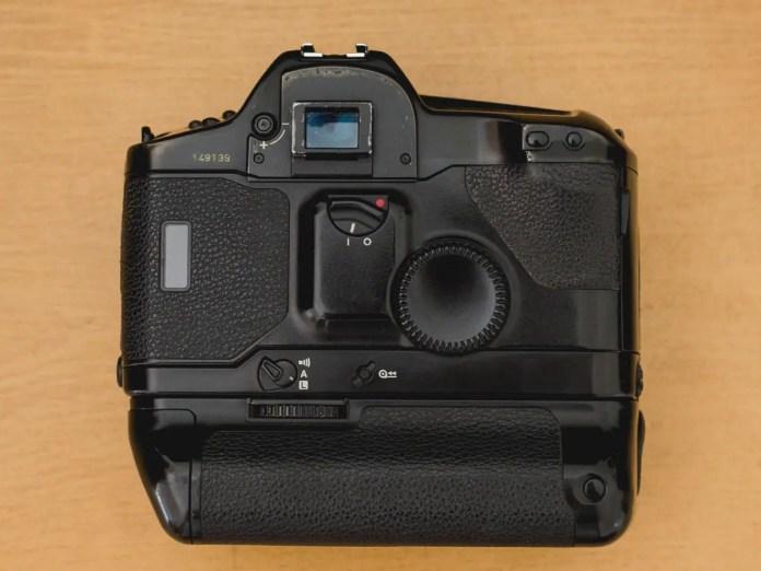 Juan Gauna - Canon EOS1 - Rear