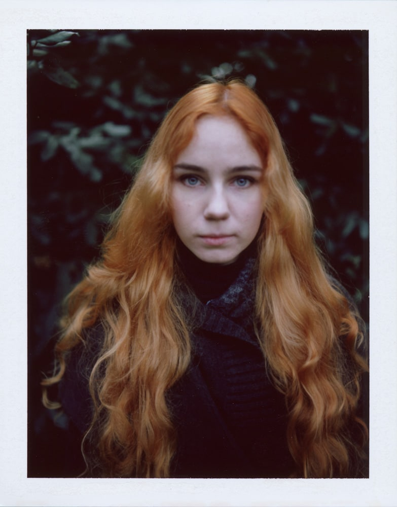 Irina, Fujifilm FP-100C, Polaroid Land 180, Greenwich