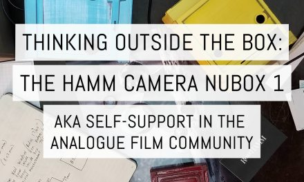 Thinking outside the box: the Hamm Camera Nubox 1 aka self-support in the analogue film community