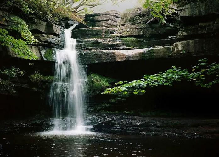Summerhill Force - Bronica ETRS, Kodak Ektar 100. Lee Little Stopper 8 seconds @ 5.6 75mm lens