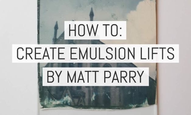 How to create Polaroid emulsion lifts – by Matt Parry