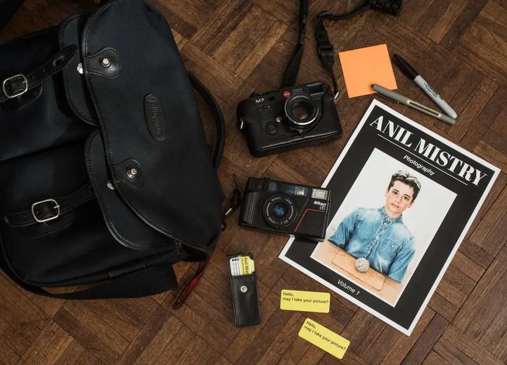 How To Shoot Street Portraits - Kit