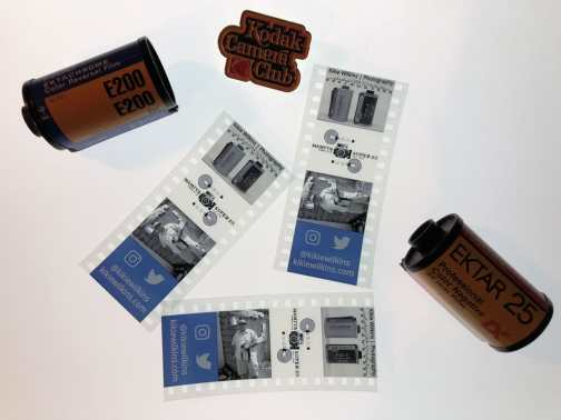 Kodak Film Strip Creator - In action
